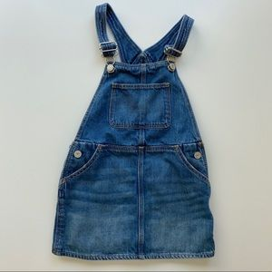 Baby Gap | denim overall jumper dress